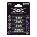 Аккумулятор Sanyo Eneloop XX AA Ni-MH 2550mAh HR-3UWXB (1шт)